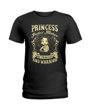 PRINCESS AND WARRIOR - Princess Ladies T-Shirt front