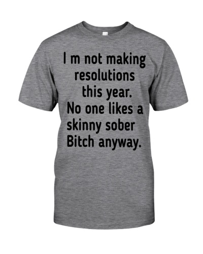 Funny Resolutions Shirt