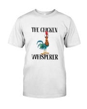 Funny The Chicken Whisperer Shirt Classic T-Shirt front