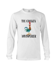 Funny The Chicken Whisperer Shirt Long Sleeve Tee thumbnail