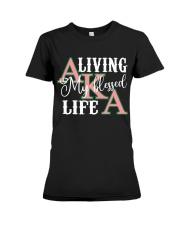 Blessed Life Premium Fit Ladies Tee thumbnail