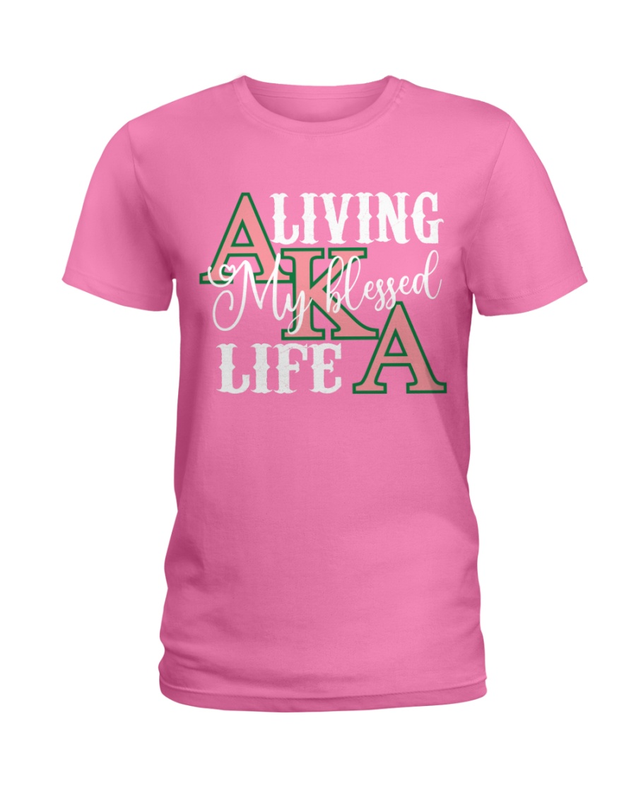 Blessed Life Ladies T-Shirt