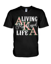 Blessed Life V-Neck T-Shirt thumbnail