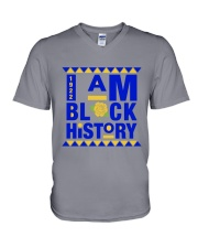 History V-Neck T-Shirt tile