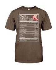 DST Facts Classic T-Shirt thumbnail