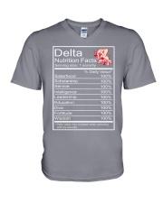 DST Facts V-Neck T-Shirt thumbnail