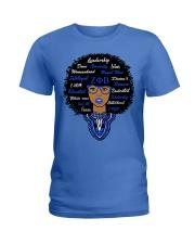 Zeta woman Ladies T-Shirt front