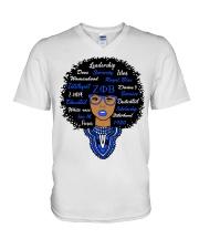 Zeta woman V-Neck T-Shirt thumbnail
