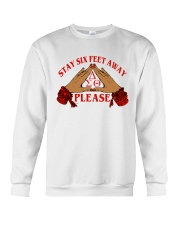 Stay 6 feet away Crewneck Sweatshirt thumbnail