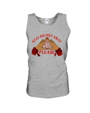 Stay 6 feet away Unisex Tank thumbnail