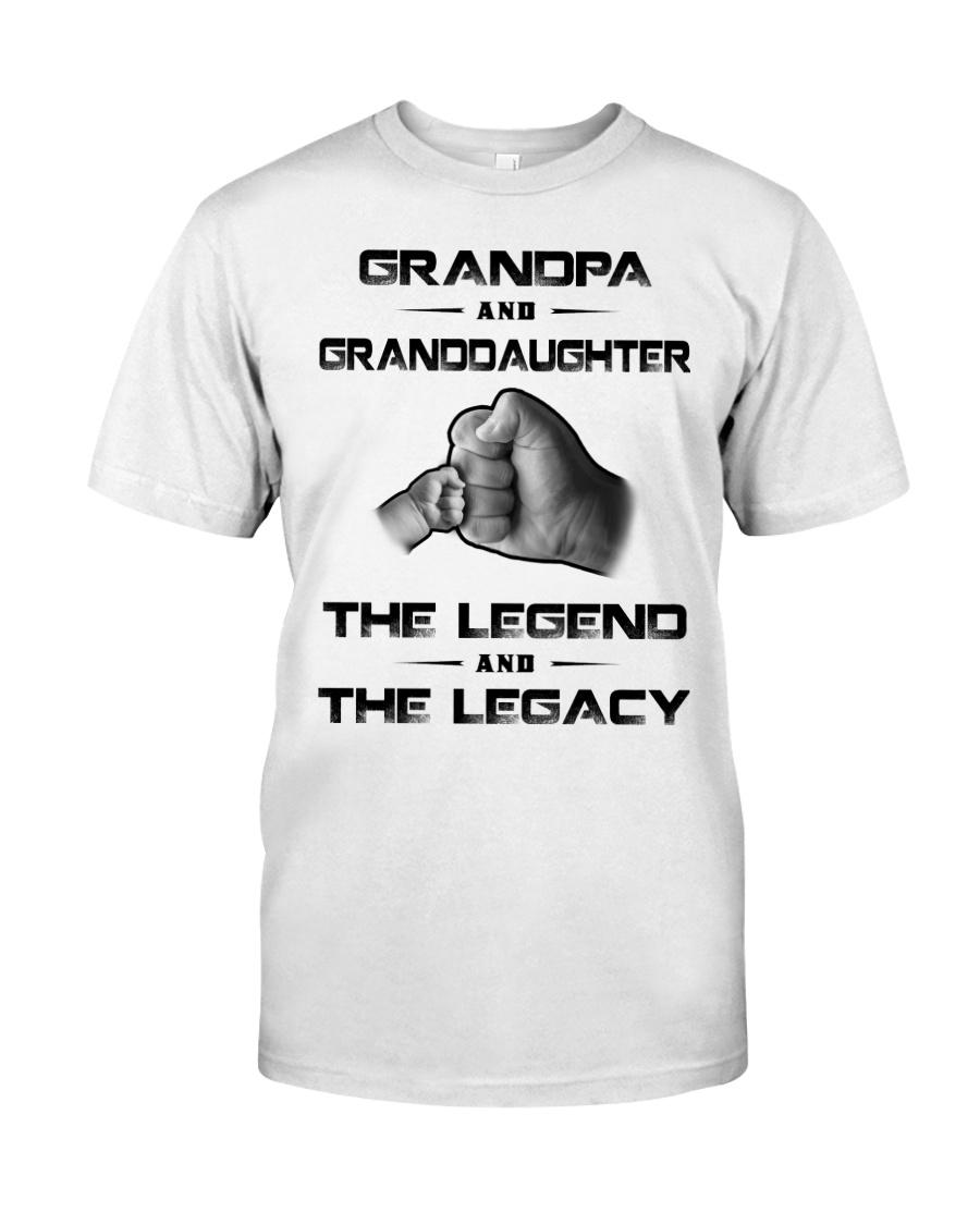 Grandpa - Granddaughter Classic T-Shirt