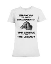 Grandpa - Granddaughter Premium Fit Ladies Tee thumbnail