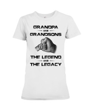 Grandpa - GrandSonS Premium Fit Ladies Tee tile