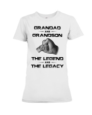 Granddad - GrandSon Premium Fit Ladies Tee thumbnail