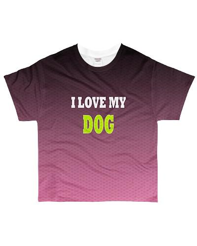 i love my dog pink