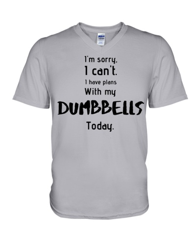 Dumbell date - Funny workout shirts