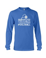 Survived Coronavirus without pickleball2 Long Sleeve Tee thumbnail