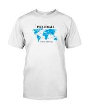 Pickleball - Uniting the World map Classic T-Shirt thumbnail