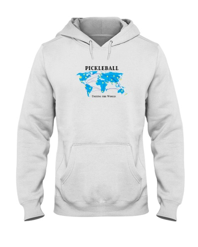 Pickleball - Uniting the World map