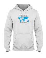 Pickleball - Uniting the World map Hooded Sweatshirt thumbnail