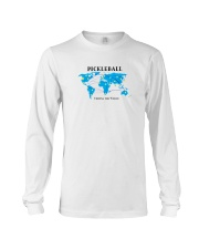 Pickleball - Uniting the World map Long Sleeve Tee thumbnail