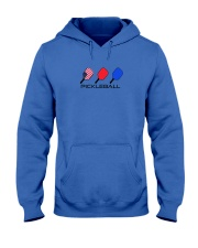 Pickleball USA flag tees and hoodies Hooded Sweatshirt tile