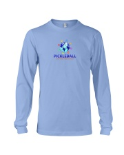 Pickleball Uniting the World Long Sleeve Tee front