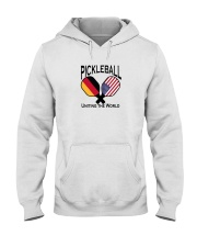 Pickleball Uniting the World-USA and Germany Hooded Sweatshirt thumbnail