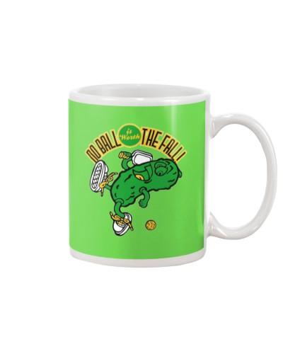 Pickleball No Ball is Worth the Fall mug