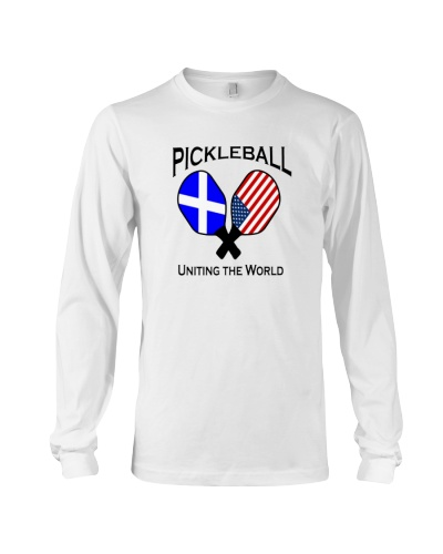 Pickleball Uniting the World - USA and Scotland