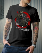 GR CH CROATA BIS ROM Classic T-Shirt lifestyle-mens-crewneck-front-6
