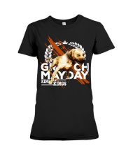 GR CH MAYDAY ROM Premium Fit Ladies Tee thumbnail