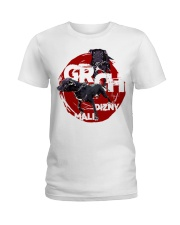 GR CH MALI DIZNY ROM Ladies T-Shirt tile