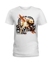 GR CH MAYDAY ROM Ladies T-Shirt thumbnail
