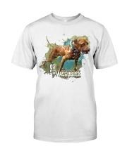 GR CH MACHOBUCK ROM Classic T-Shirt front