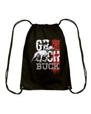 GR CH BUCK ROM Drawstring Bag thumbnail