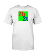 2b2t Old Logo Classic T-Shirt front