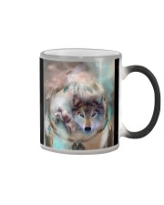 Wolf Sprit  Color Changing Mug tile