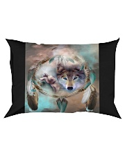 Wolf Sprit  Rectangular Pillowcase tile