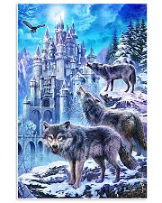 Three Wolf Poster 11x17 Poster front