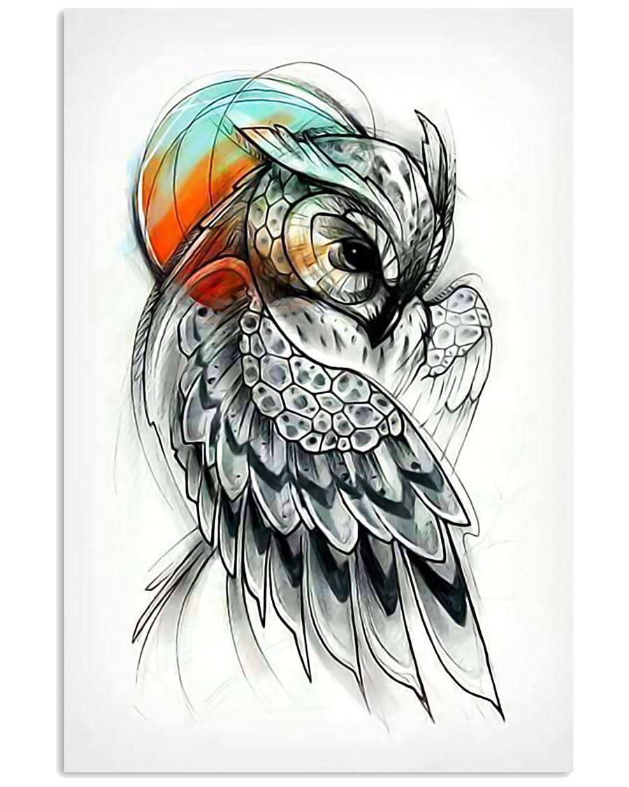 Owl Poster Art 11x17 Poster