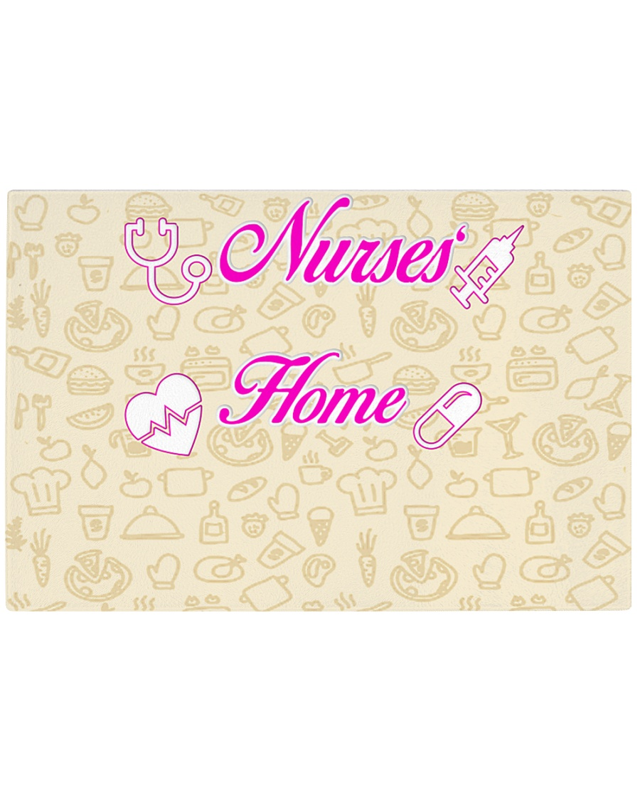 Nurses' Home Durable tempered glass  Rectangle Cutting Board