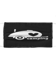 I Love camping Cloth face mask front