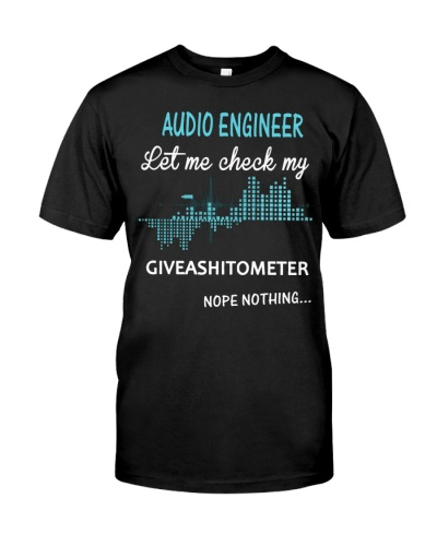 Audio Engineer  nothing