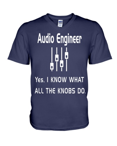 Audio Engineer all the knobs do