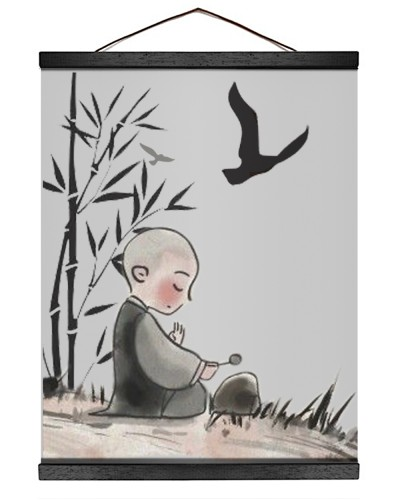 bamboo and kid
