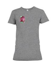 rose Premium Fit Ladies Tee front