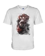 kagura V-Neck T-Shirt thumbnail