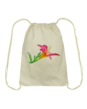 Lily flower Drawstring Bag thumbnail