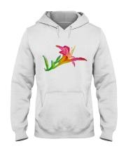 Lily flower Hooded Sweatshirt thumbnail